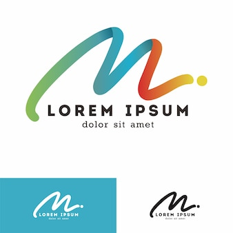 M logo lettera
