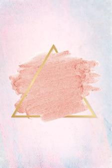 Macchia di rossetto rosa