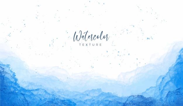 Macchie blu sfondo acquerello