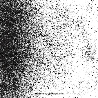 Macchie nere su sfondo bianco