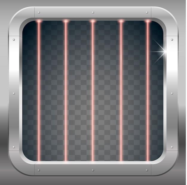 Macchina fotografica con barre laser