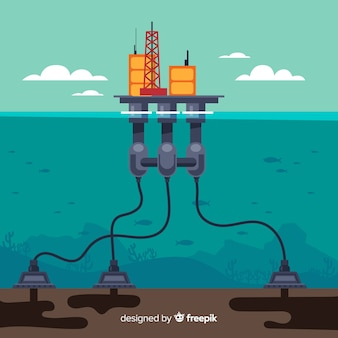 Macchina per ingegnere navale piatta