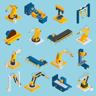 Macchinario isometrico del robot