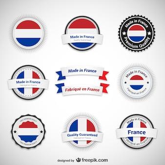 Made in francia etichette