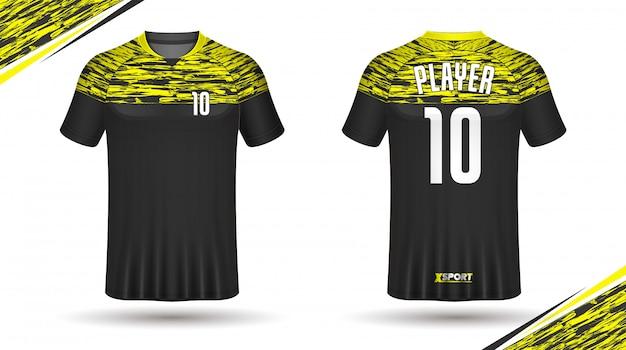 Maglia da calcio modello sportivo con design t-shirt