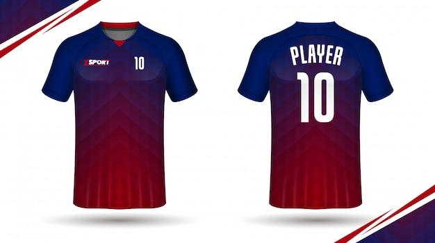 Maglia da calcio modello sportivo t shirt design