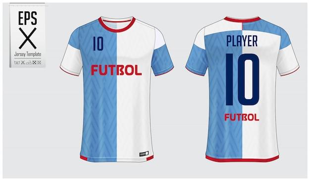 Maglia da calcio o modello di kit da calcio