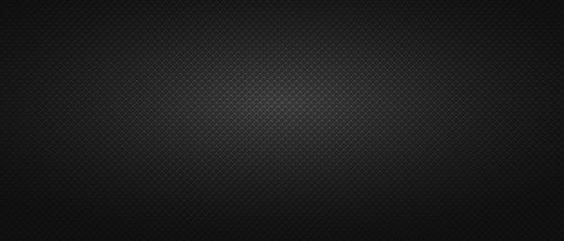 Maglia quadrata in metallo con sfondo nero. sfondo bianco e nero senza soluzione di continuità.