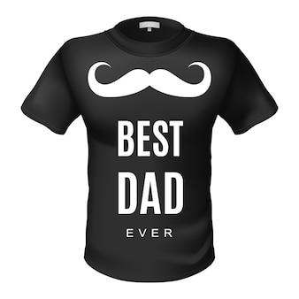 Maglietta migliore papà