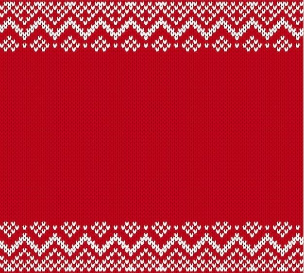 Maglione lavorato a maglia in stile fair isle.