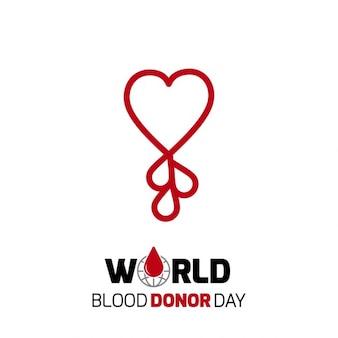 Make sangue a forma di cuore a pettine
