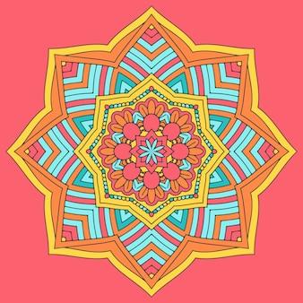 Mandala colorato design