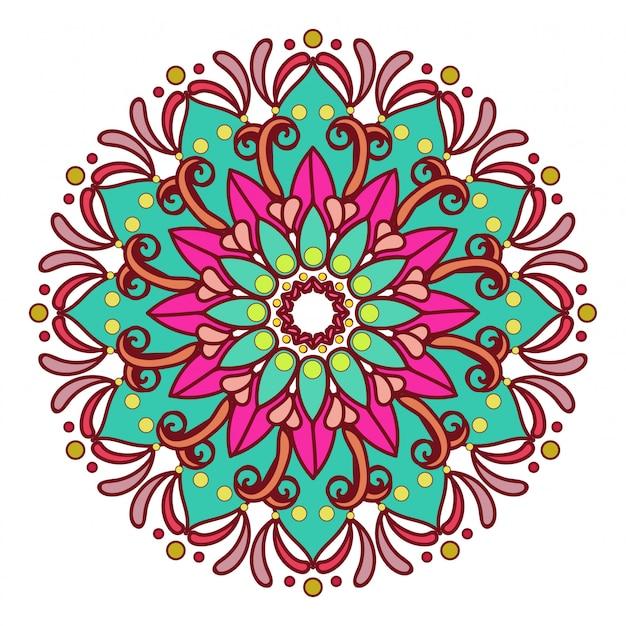 Mandala colorato