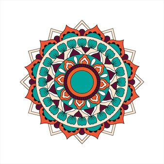 Mandala design indiano