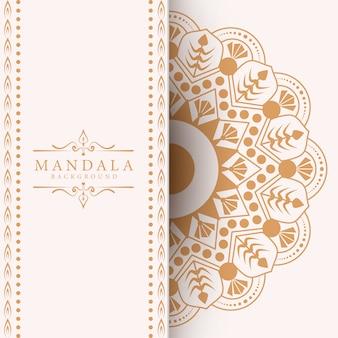 Mandala di lusso creativo