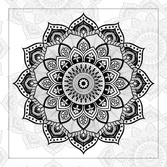 Mandala di lusso geometrica