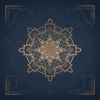 Mandala di lusso per la copertina del libro