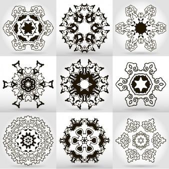 Mandala disegna collezione