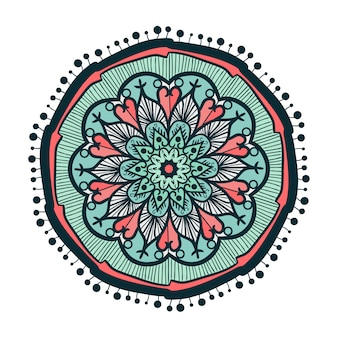 Mandala disegnata a mano