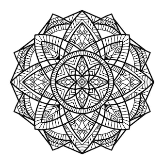 Mandala disegno vettoriale per la stampa