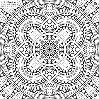 Mandala. elementi decorativi etnici