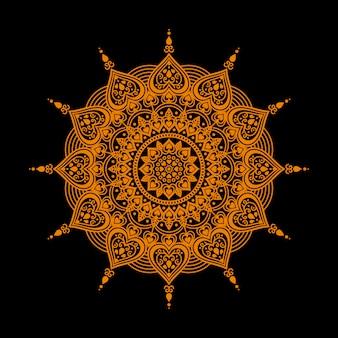 Mandala incantevole di lusso