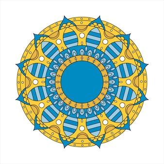 Mandala indiana colorata