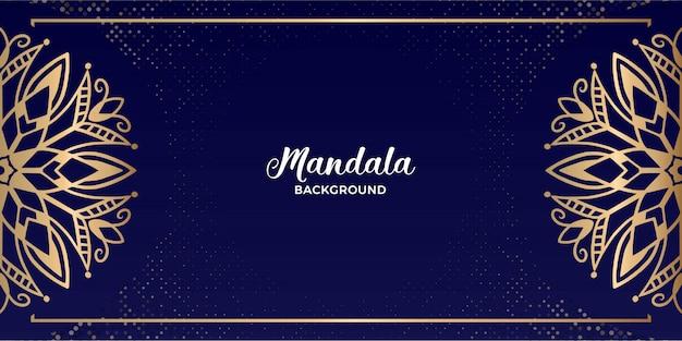 Mandala luxury landscape landscape di lusso