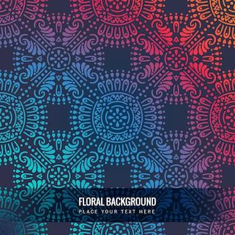 Mandala ornamentale di lusso