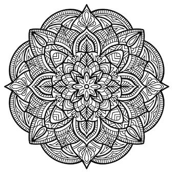 Mandala, ornamento tribale.