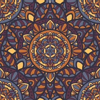 Mandala ornamento tribale.