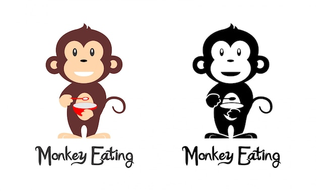 Mangiare scimmia