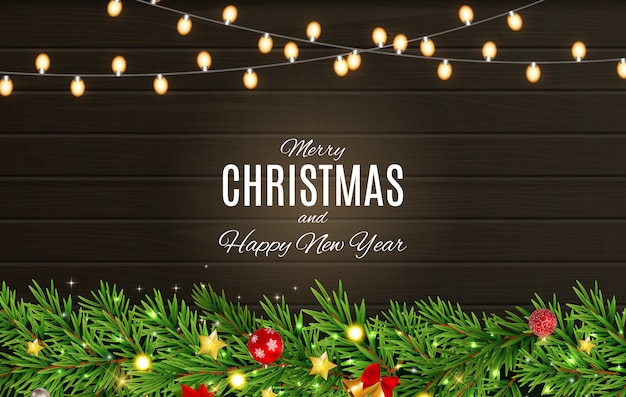 Manifesti di buon natale e felice anno nuovo