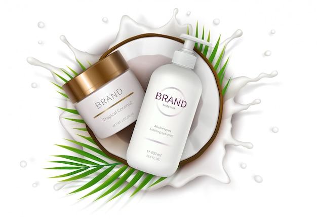 Manifesto concettuale per crema naturale organica