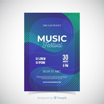 Manifesto del festival musicale