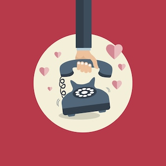 Manifesto giorno di s. valentino