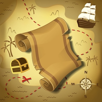 Mappa dei pirati