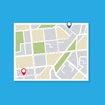 Mappa del modo di consegna