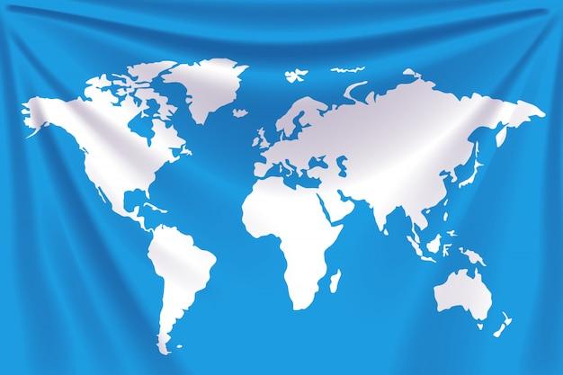 Mappa del mondo di sfondo