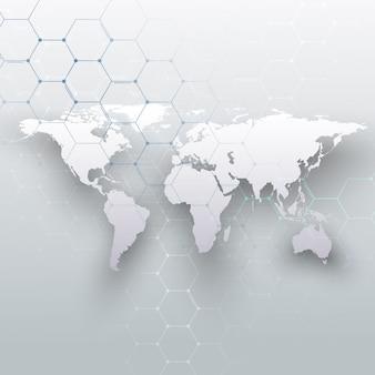 Mappa del mondo