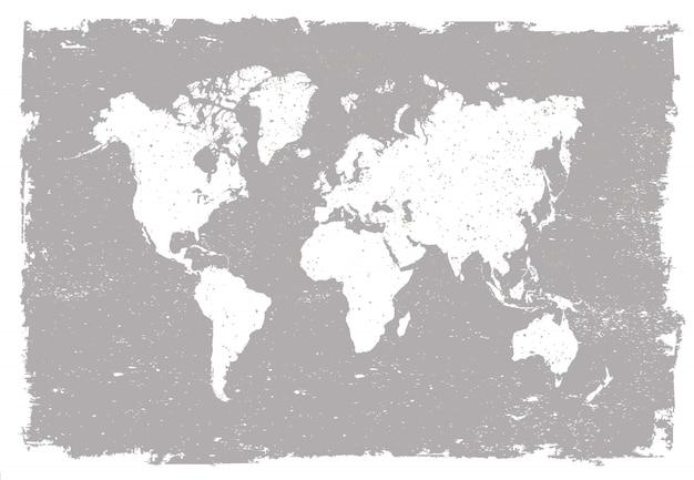 Mappa del vecchio mondo
