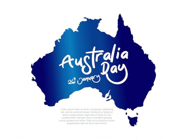 Mappa dell'australia