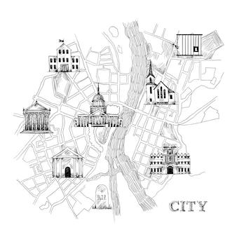 Mappa della città dell'informazione