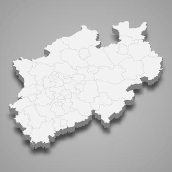 Mappa dello stato della germania