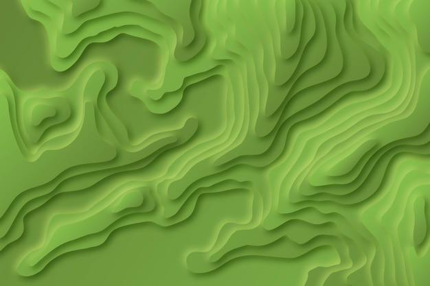 Mappa topografica sullo sfondo