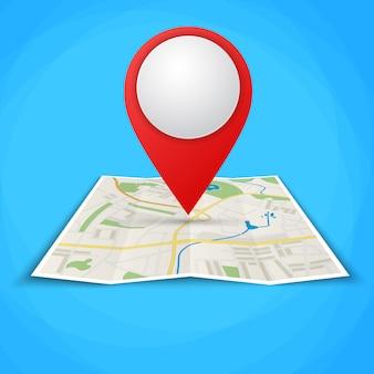 Mappe piegate con marcatori di punti di colore
