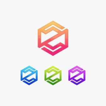 Marchio della lettera z logo logotype