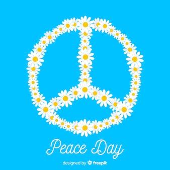 Margherite pace segno sfondo