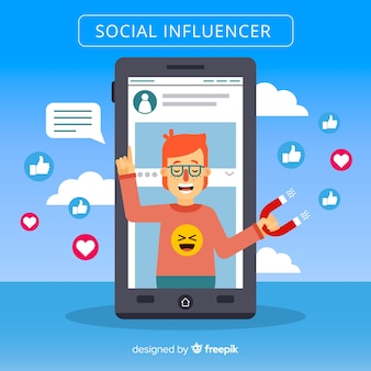 Marketing degli influencer sociali