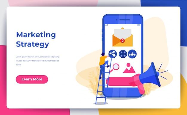 Marketing digitale con megafono
